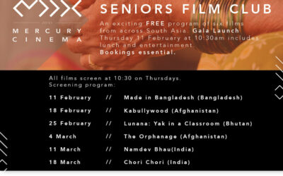 New program building community around the films of South Asia